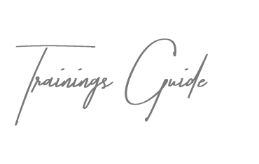 Trainings Guide