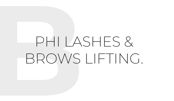Lashes & Brows Lifting