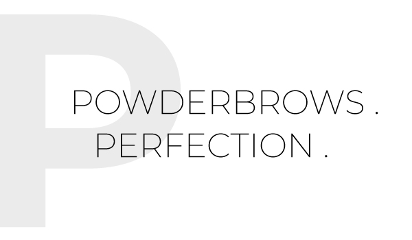PowderBrows Perfection